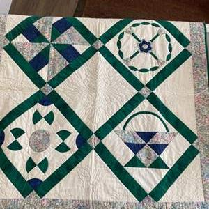 Lot # 167 - Box of Quilting projects