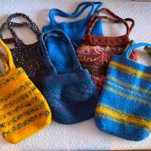 Lot # 169 - Handmade Hobo bags