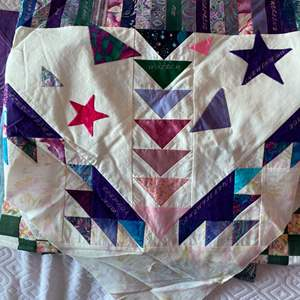 Lot # 178 - Large box of quilting projects needs assembly