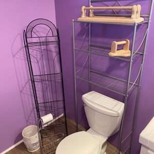 Lot # 180 - Bathroom racks