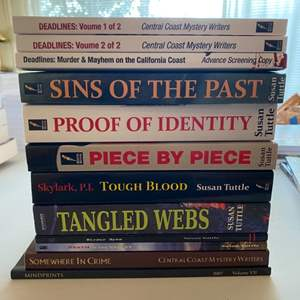 Lot # 212 - NEW mystery novels by Susan Tuttle