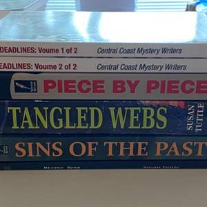 Lot # 217 - NEW mystery novels by Susan Tuttle