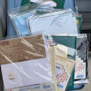 Lot # 251 - Needlepoint fabrics
