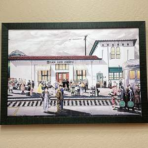 """Lot # 2 - Gene Francis Limited Edition Giclee """"All Aboard"""" 30/50 Signed Art"""