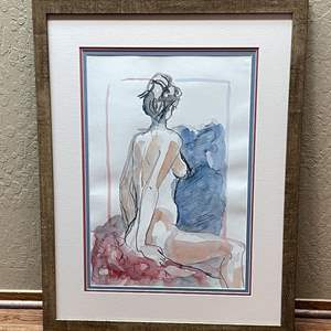 Lot # 5 - Line Art and Watercolor