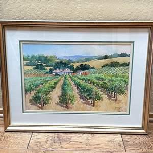Lot # 6 - Galligan Signed Original Watercolor