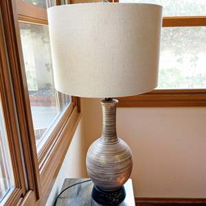 Lot # 36 - Neutral Table Lamp