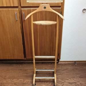 Lot # 47 - Henry Hanger Italian Wood Wardrobe Hanger for Steaming