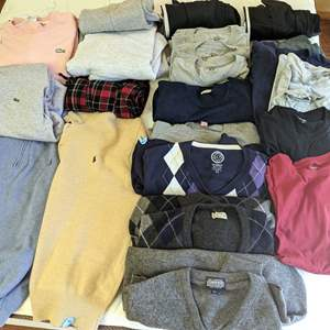 Lot # 51 - Men's Lacoste, Nordstrom, Ralph Lauren, Brooks Brothers and More