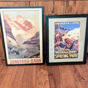 Lot # 55 - Vintage Framed Art