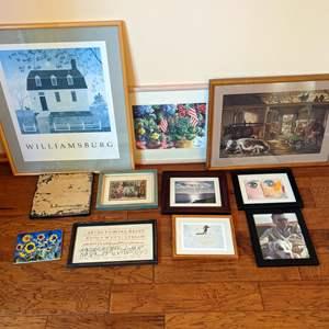 Lot # 59 - Collection of Framed Artwork