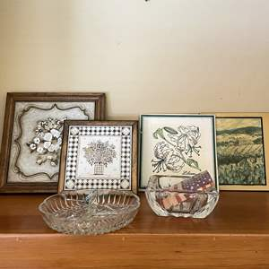 Lot # 69 - Italian Tiles, Clear  Glass and More