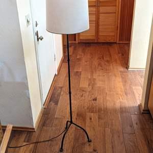 Lot # 85 - Interesting Bent Metal Floor Lamp