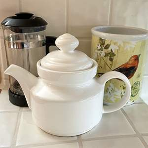 Lot # 95 - Wine Chiller, French Press, Teapot