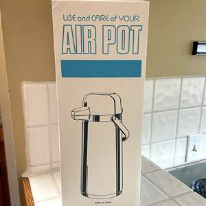 Lot # 96 - Airpot For Hot Drinks