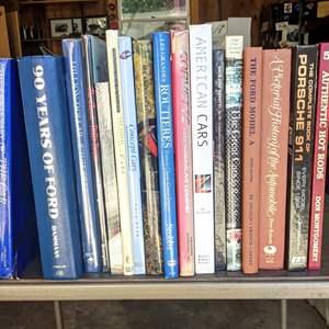 Lot # 151 - Interesting Automotive History Books