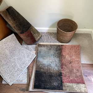 Lot # 127 - Assortment of (1) Hallway Runner and Area Rugs