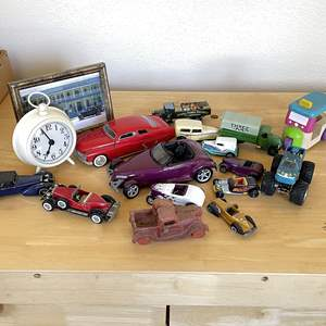 Lot # 131 - Collection of Vintage (One Iron) and New Toy Cars
