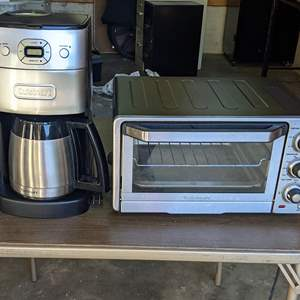 Lot # 172 - Cuisinart Toaster Oven and Grind Brew Coffeemaker