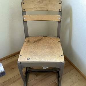 Lot # 136 - Vintage School Chair