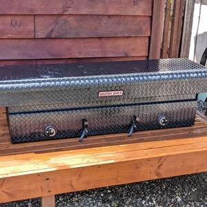 Lot # 175 - Weather Guard Truck Bed Tool Box WITH KEY