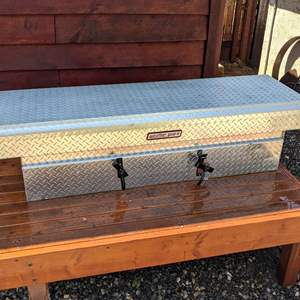 Lot # 180 - Weather Guard Truck Bed Tool Box WITH KEY