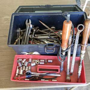Lot # 182 - Toolbox Filled with Tools