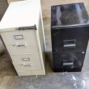 Lot # 184 - (2) Filing Cabinets