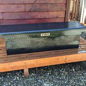 Lot # 186 - Tractor Supply Truck Tool Box WITH KEY
