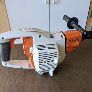 Lot # 191 -  Stihl BT 45 Gas Wood Boring Drill and Engine Oil