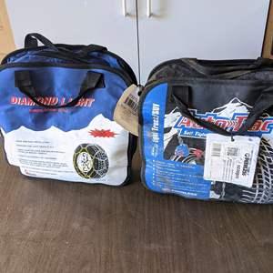 Lot # 192 - (2) Tire Snow Chains Sets