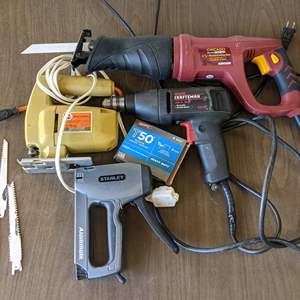 Lot # 202 - Electric Power Tools (All Tested and Working)
