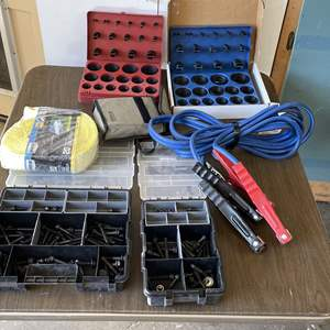 Lot # 217 - KNOPP Model K-3, Heavy Duty Jumper Cables, (2) O-Ring Kits