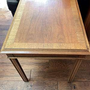 Lot # 21 - Midcentury Hekman Wooden End Table