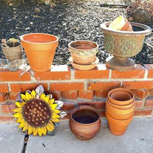 Lot # 211 - Terracotta Pots and More