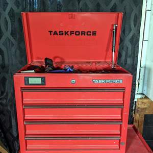 Lot # 22 - Task Force Tool Box Filled With Tools