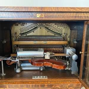 Lot # 1 - Very, Very Rare Violano Virtuoso by Mills Novelty Company - plays needs tuning