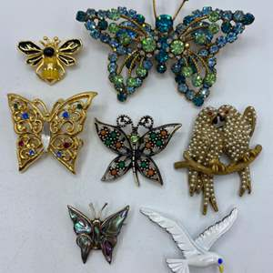 Lot # 63 - Brooches