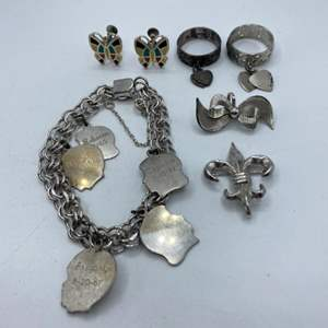 Lot # 70 - Sterling jewelry (47.7g)