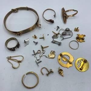 Lot # 73 - Scrap 10k gold lot (25.8g)