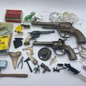 Lot # 74 - Childhood memories with Hubley cap gun