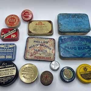 Lot # 75 - Vintage tins