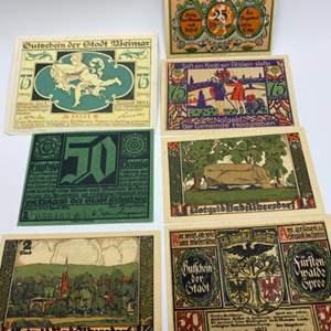 Lot # 81 - 1921 & 1922 German money Notgeld