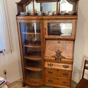 Lot # 83 - Vintage Secretary (contents not included)