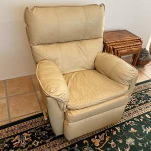 Lot # 89 - All leather recliner / rocker