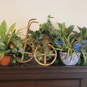 Lot # 91 - Artificial plants