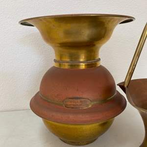 Lot # 94 - Brass spittoons