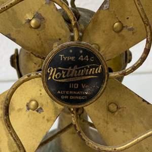 Lot # 117 - Vintage Northwind fan