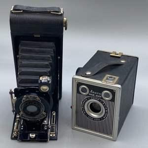 Lot # 147 - Kodak camera and sure shot camera