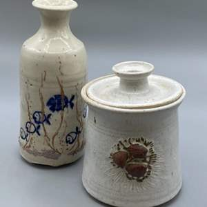 Lot # 158 - Art ceramics
